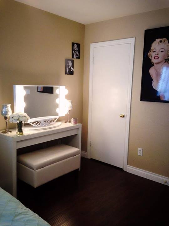 Marilyn Monroe dressing room